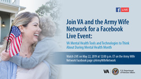 Join VA and Army Wife Network for a Facebook Live Event
