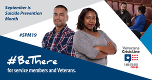 VA recognizes September as Suicide Prevention Month