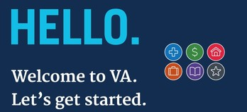 VA Welcome Kit graphics