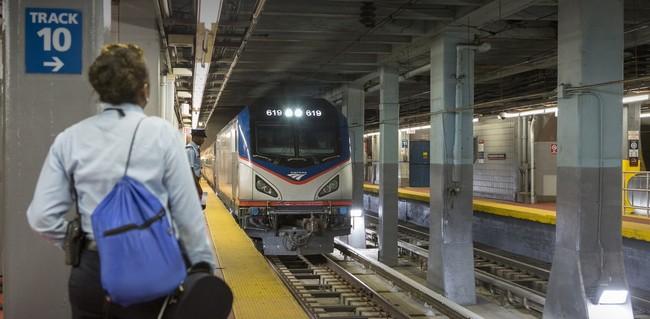 Amtrak Penn station Vet Resources