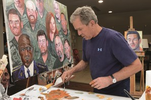 GWBush portraits of courage