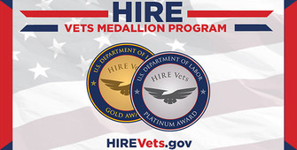 2020 HIRE Vets Medallion
