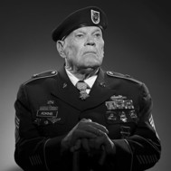Medal of Honor recipient Bennie Adkins