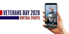 virtual events veterans day 2020