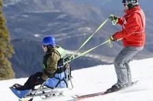 adaptive skiing VA sports