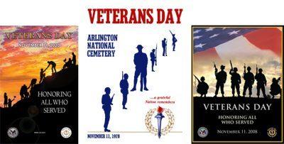 2021 veterans day poster