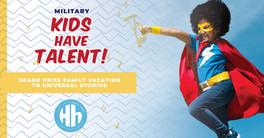 mil kids have talent