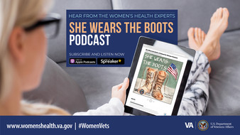 vha womens health she wears the boots podcast
