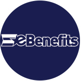 eBenefits logo circle