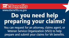 eBenefits request a representative