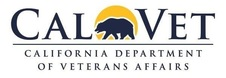 CalVet, California Department of Veterans Affairs logo