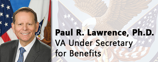 Paul Lawrence, Under Secretary for Benefits