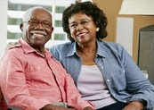 Veterans Pension; senior couple at home