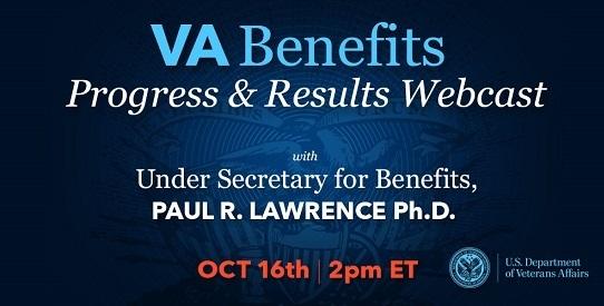 VA Benefits Progress and Results Webcast