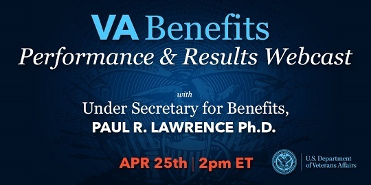 VA Benefits Performance and Results Webcast