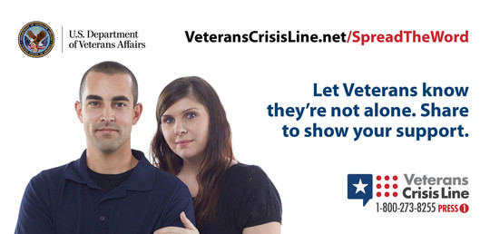 Veterans Crisis Line - Spread the Word