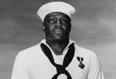Doris Miller, a service member in the U.S. Navy