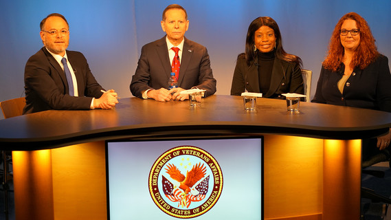 Under Secretary for Benefits, Paul R. Lawrence, Ph.D. hosts webcast
