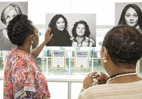 Photo exhibit honoring women Veterans