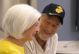 Senior Veteran couple