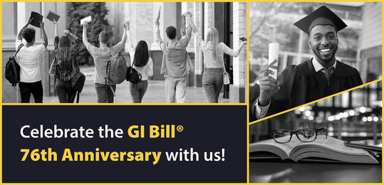 Celebrate the 76th Anniversary of the GI Bill Today