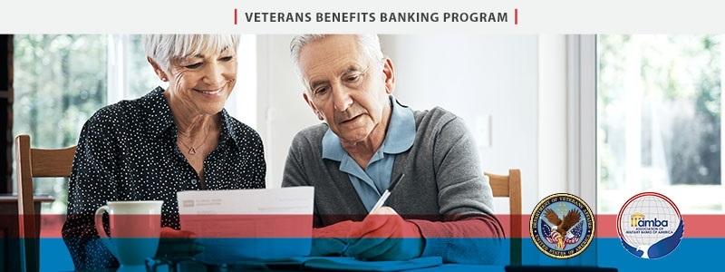 Veterans Better Banking Program banner