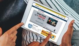 Veteran shopping on the Exchange website
