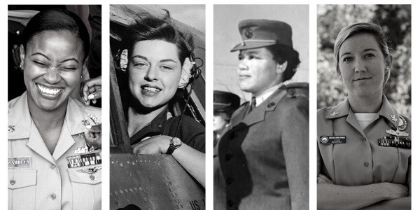 Collage of women Veterans