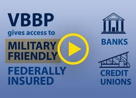 Watch a video about the Veterans Benefits Banking Program