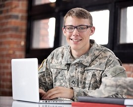 Service member applying for VA benefits