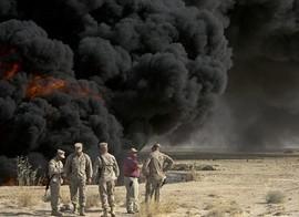 Military burn pits and smoke