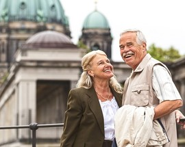 Veteran couple living abroad