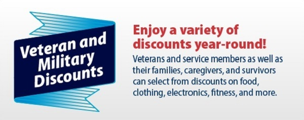 Veteran Discounts Available Year Round