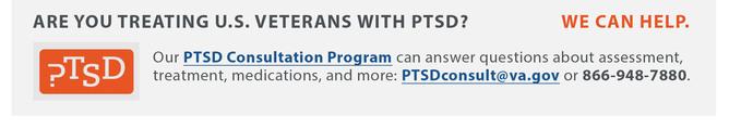 PTSD Consultation Web Banner