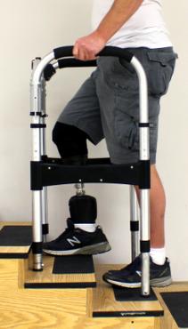 Self-leveling walker