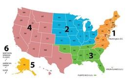 CCN Regional Map