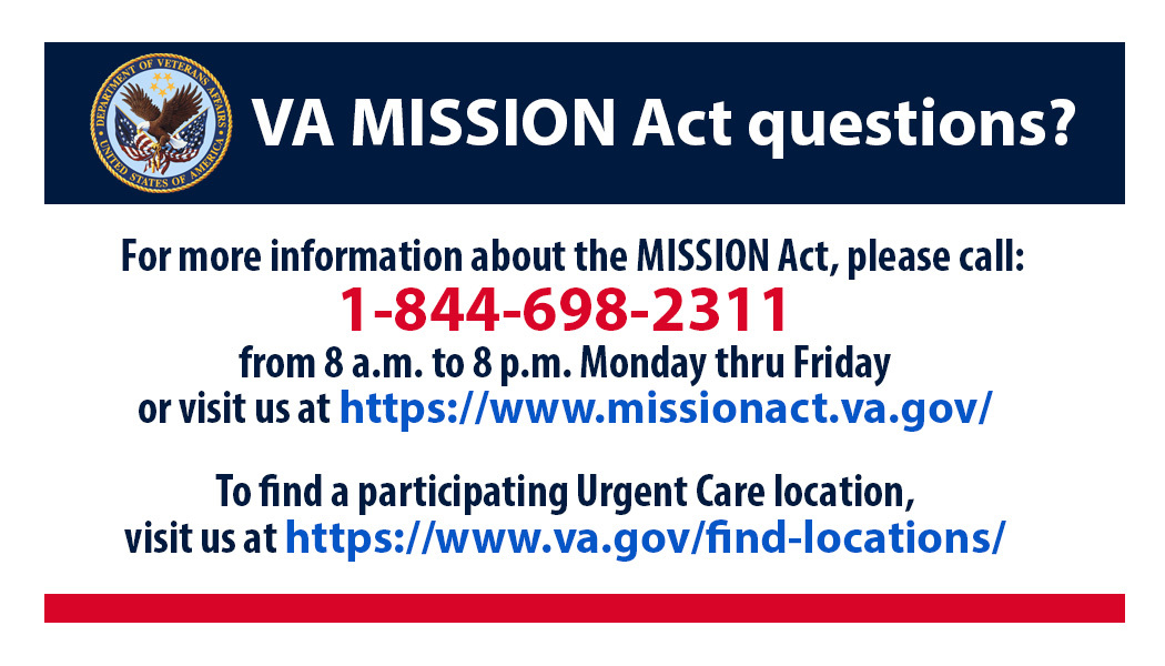 MISSION CONTACT INFO FOR VETERANS