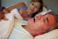 Veteran keeping wife awake with snoring