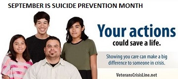 BeThere, September is Suicide Prevention Month
