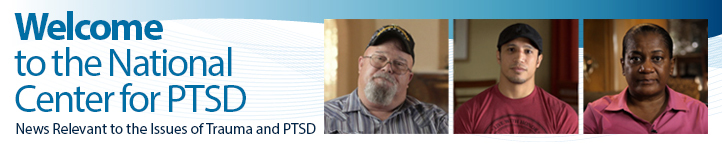 Welcome to the National Center for PTSD
