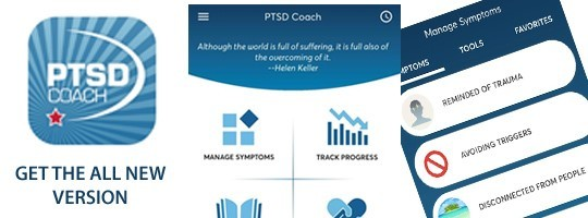 Introducing the all new PTSD Coach App