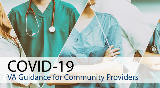 Provider Bodies with geometric designs and VA Guidance for Community Provider COVID-19