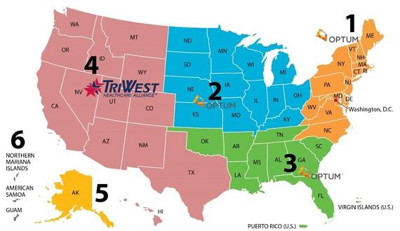 US Map of CCN Regions