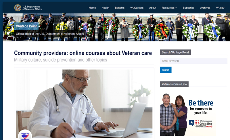 Cover from VAntage Community providers online courses story