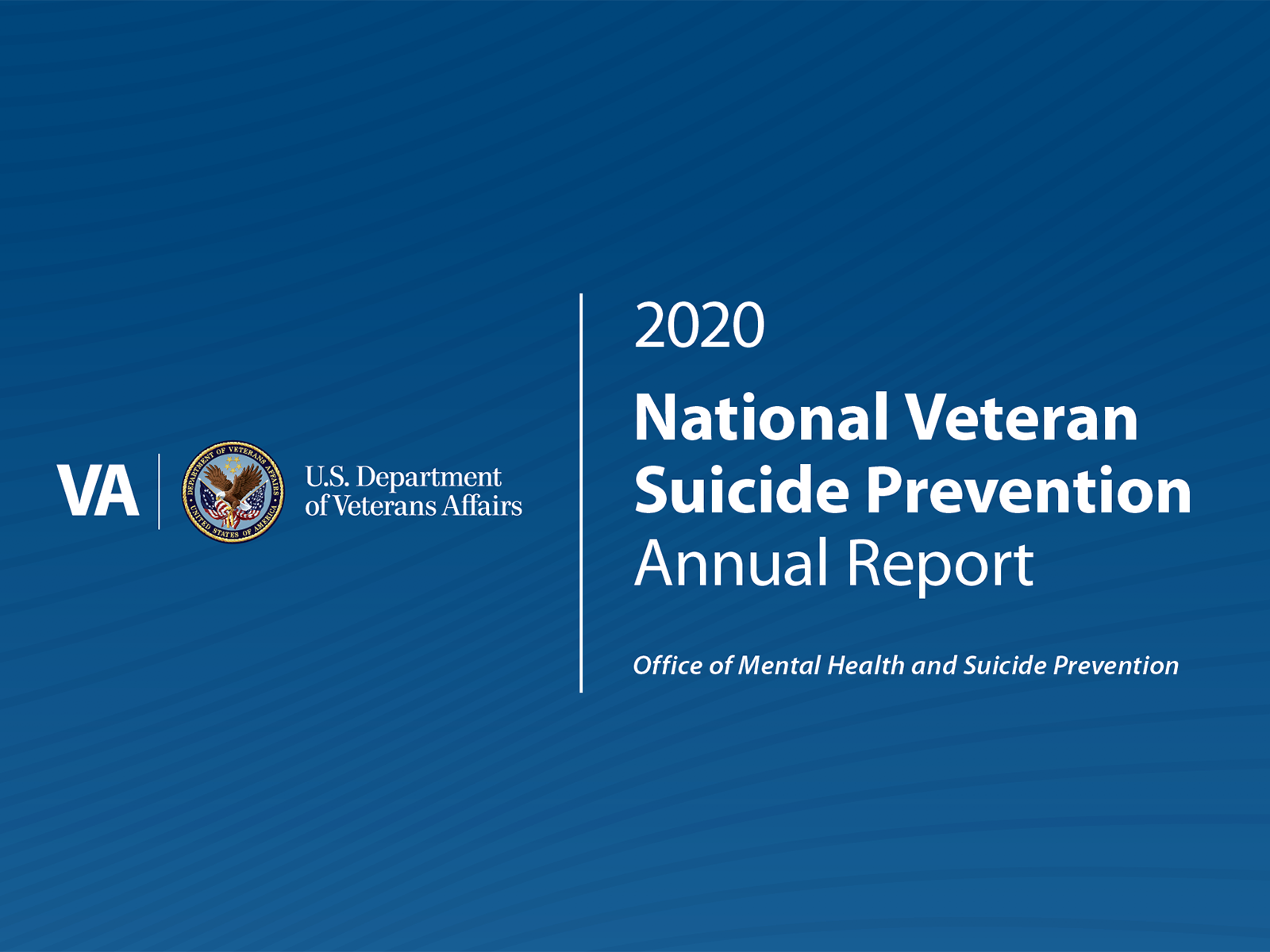 VA Office of Mental Health and Suidice Prevention: 2020 National Veteran Suicide Prevention Annual Report