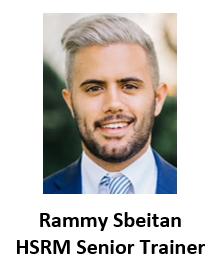 Rammy Sbeitan HSRM Senior Trainer