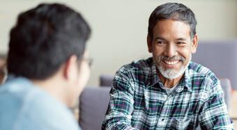 patient advocate smiling