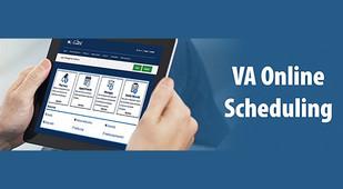 screenshot of VA online hub on a tablet