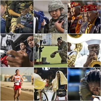 Minority Veteran Collage