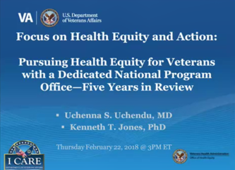 February Focus on Health Equity and Action Cyberseminar Image